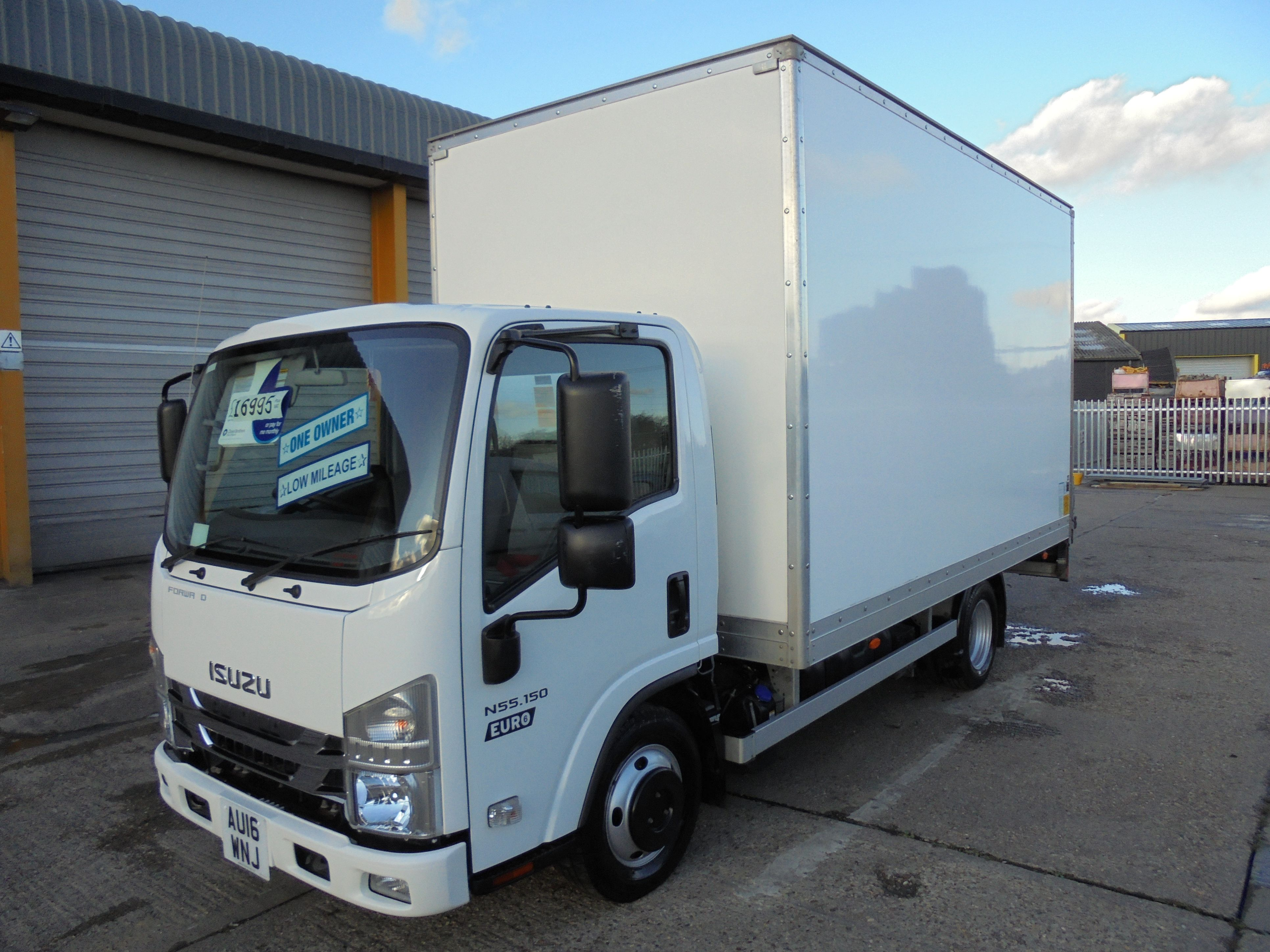 2016 ISUZU TRUCKS FORWARD 14FT BOX LORRY