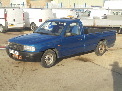 2002 MAZDA B2500 2.5 TURBO DIESEL 4X2 SINGLE CAB