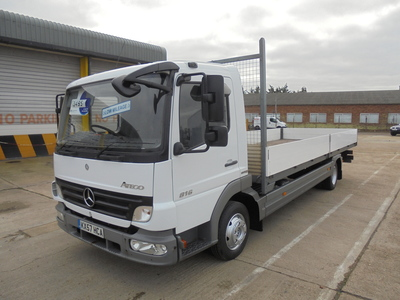 2007 57 MERCEDES-BENZ ATEGO 816 BLUETEC 4 21ft SCA